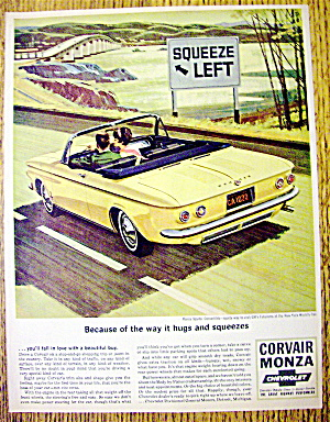 1964 Corvair Monza With Monza Spyder Convertible