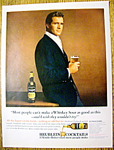 1964 Heublein Cocktails With Hugh O'brian