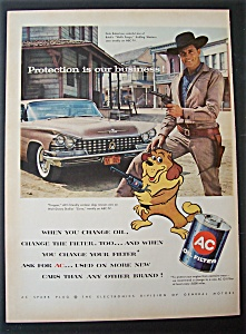 1958  AC  Oil   Filter  with  Dale  Robertson (Image1)