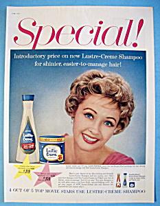 1959 Lustre-Creme Shampoo with Jane Powell (Image1)