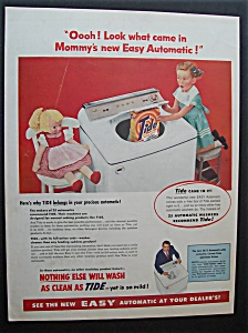 1955  Easy  Automatic  &  Tide  Detergent (Image1)