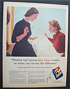 1955  Cheer  Laundry  Detergent (Image1)
