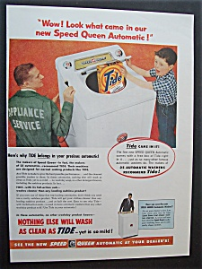 1955  Speed  Queen  Automatic  &  Tide  Detergent (Image1)
