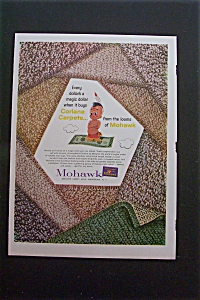 1959 Mohawk Carpets with Samples of Carpeting  (Image1)