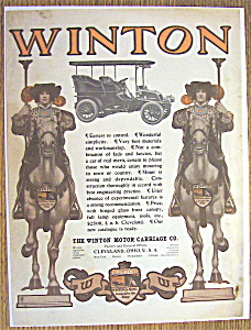 Vintage Ad: 1904 Winton Motor Carriage Co. (Image1)