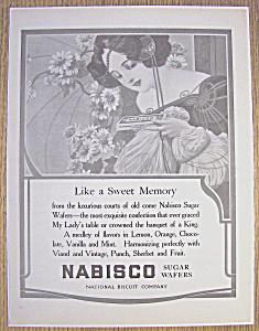 Vintage Ad: 1904 Nabisco Sugar Wafers (Image1)