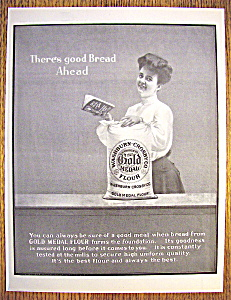 Vintage Ad: 1904 Gold Medal Flour (Image1)