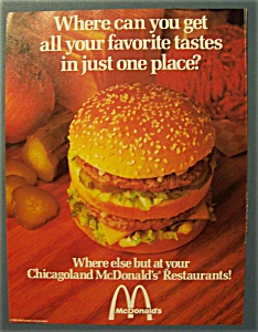 1984 Mc Donald's Restaurants