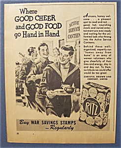 1944 Christie's Ritz Crackers