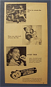 Vintage Ad: 1944 Wint-o-green Life Savers