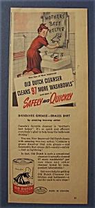 Vintage Ad: 1944 Old Dutch Cleanser (Image1)