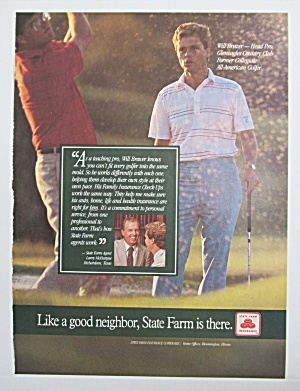 1986 State Farm Insurance with Golfer Will Brewer (Image1)
