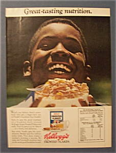 1974 Kellogg's Sugar Frosted Flakes
