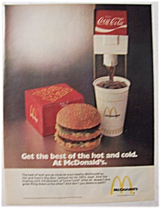 1974 Mc Donald's Restaurants