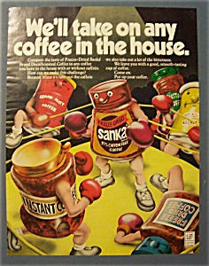 1972 Sanka Freeze - Dried Coffee