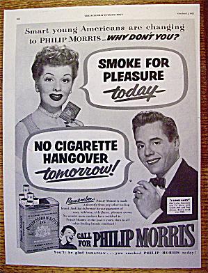 1952 Philip Morris w/Lucille Ball & Desi Arnaz (Image1)