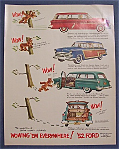 1952 Ford with Sedan, Squire & Wagon (Image1)
