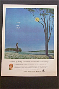 1959 Bell Telephone System with Woman Walking in Field (Image1)