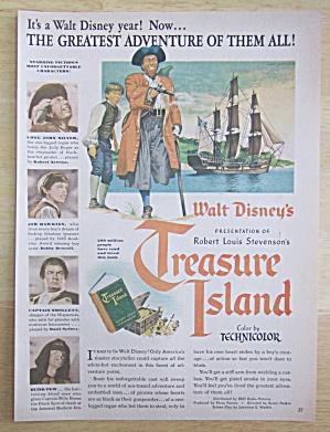 1950 Walt Disney's Treasure Island with Pirate & Boy (Image1)