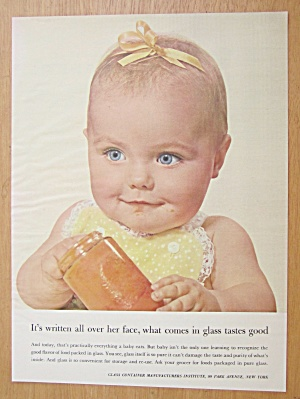 1956 Glass Container Manufacturers Institute with Baby  (Image1)