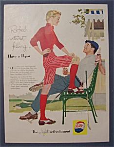 Vintage Ad: 1957  Pepsi - Cola (Image1)