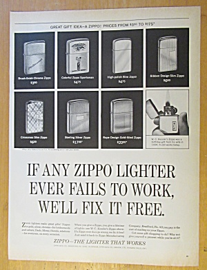 1965 Zippo Lighters with Different Zippo Lighters  (Image1)
