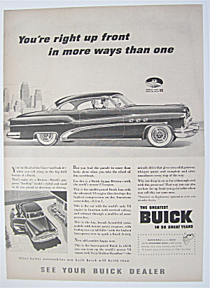 1953 Buick with a Man & Woman Taking A Drive (Image1)