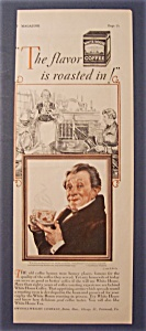 1928 White House Coffee with Man And A Scene Behind Him (Image1)