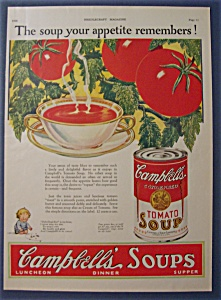 1928 Campbell's Tomato Soup