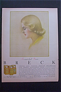 1959 Breck Shampoo with a Beautiful Breck Girl  (Image1)