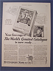 1928  Montgomery Ward  &  Co.  Catalogue (Image1)