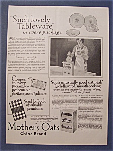 1927  Mother's  Oats   With  China (Image1)