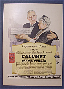 1927 Calumet Baking Powder