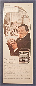 1928 White House Coffee With Man Holding Cup Of Coffee