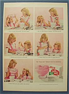 1955  Jell - O  Instant  Pudding (Image1)