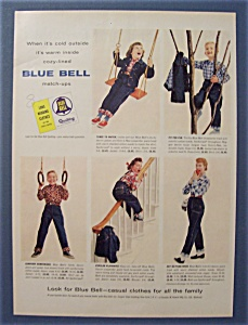 1955 Blue Bell Match Ups with Man Holding Cup of Coffee (Image1)