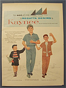 1954 Kaynee Clothing with Three Boys Walking Arm In Arm (Image1)