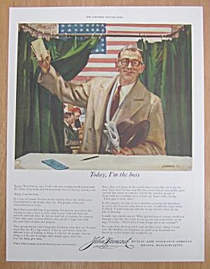 1952 John Hancock Insurance with Man Voting (Image1)