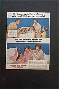 1957 Tide Detergent w/Repair Man & Woman (Image1)