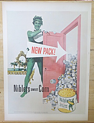 1952 Green Giant Niblets Corn with the Green Giant (Image1)