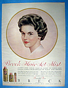 1961 Breck Hair Set Mist w/ Breck Woman (Image1)