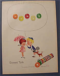 Vintage Ad: 1961  Five  Flavor  Life Savers (Image1)