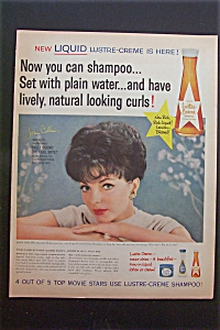 Vintage Ad: 1959 Lustre-creme Shampoo With Joan Collins