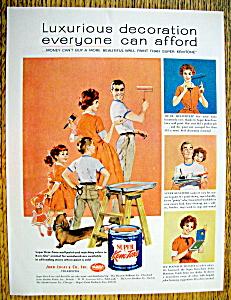 1959 Super Kem Tone Paint w/Woman & Man Painting (Image1)