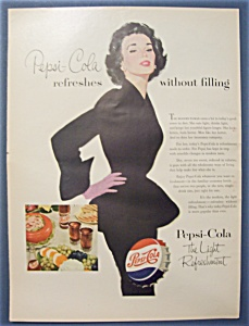 Vintage Ad: 1953  Pepsi - Cola (Image1)