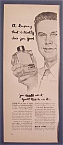 Vintage Ad: 1953 Aqua Velva After Shave/Norman Rockwell (Image1)