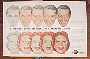 1956 NBC Color Television with Perry Como & Dinah Shore (Image1)