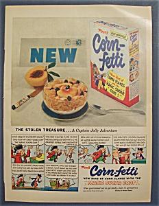 1953  Post's  Corn - Fetti  Cereal (Image1)