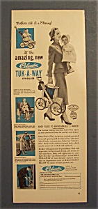 1954  Columbia  Tuk - A - Way  Stroller (Image1)