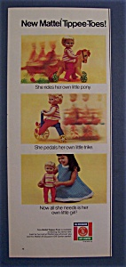 1968  Mattel  Tippee  Toes  Doll (Image1)